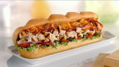 Subway new menu items