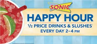 Yummy Treats on the Sonic Happy Hour Menu – That's Sonic For You