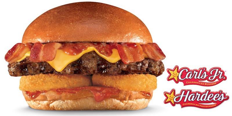 Carl's Jr. Double Western Bacon Cheeseburger