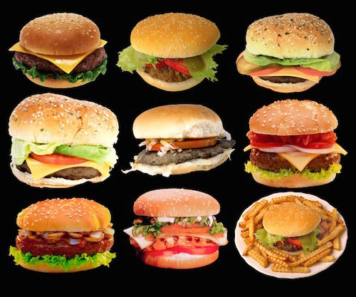 10 Ridiculously Unhealthy Hamburgers