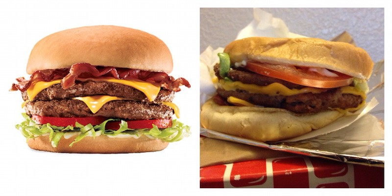 Sonic SuperSONIC Bacon Double Cheeseburger