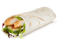 Grilled Sweet Chili Chicken Wrap
