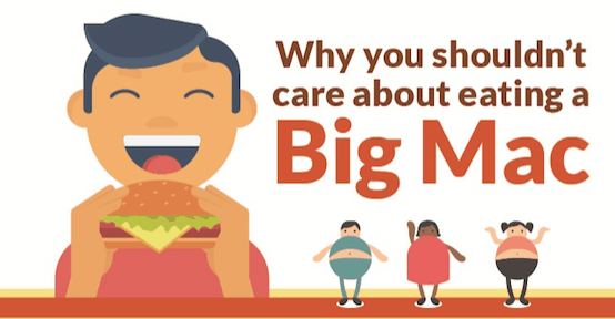 Why You Shouldn't Care About Eating A Big Mac