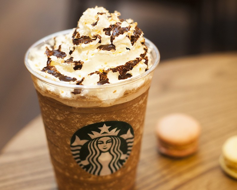 Starbucks Secret menu - nutella-frappuccino