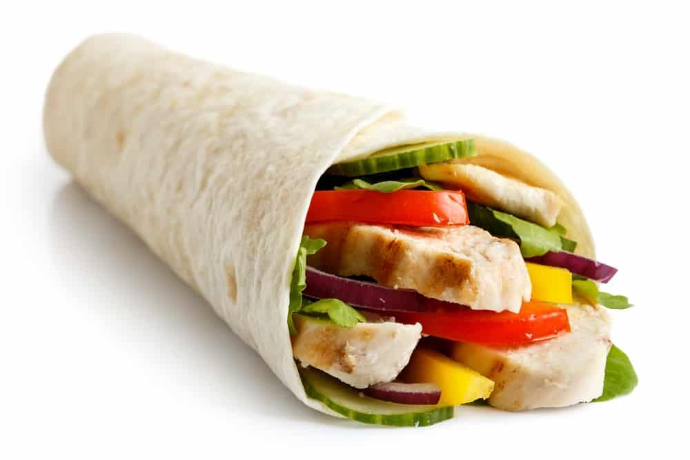 The Grilled Chicken Wrap